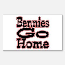 Go Home Bennies Decal
