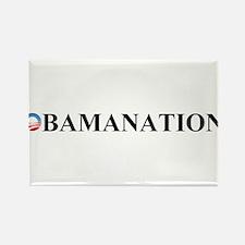 Unique Obamanation Rectangle Magnet