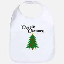 Slovak Christmas Tree Bib