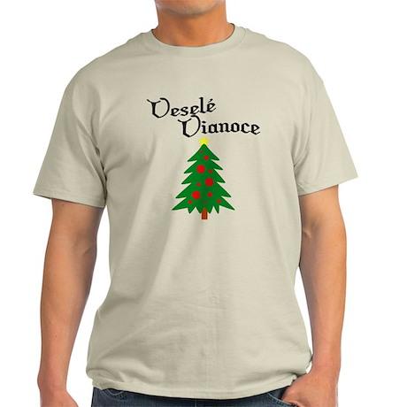 Slovak Christmas Tree Light T-Shirt
