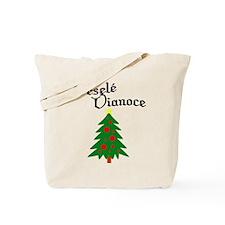 Slovak Christmas Tree Tote Bag