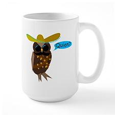 Quien Owl Mug