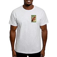Vizsla portrait Ash Grey T-Shirt