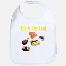 Sushi Roll Bib