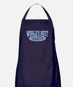 World's Best Grandpa Apron (dark)