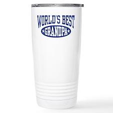 World's Best Grandpa Travel Mug