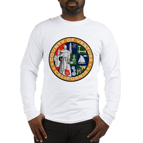 County of Ventura California Long Sleeve T-Shirt
