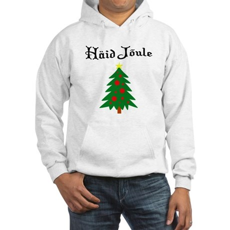 Estonian Christmas Tree Hooded Sweatshirt