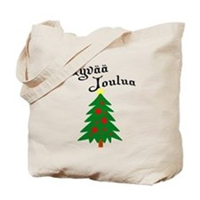 Finnish Christmas Tree Tote Bag