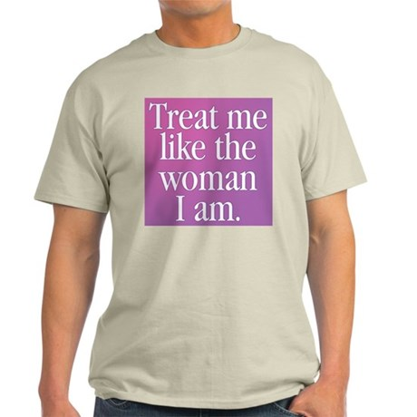 Transgender Woman Ash Grey T-Shirt