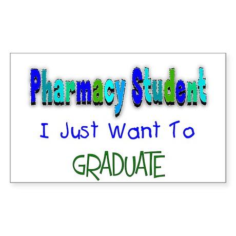 pharmacists II Rectangle Sticker
