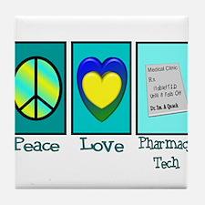 pharmacists II Tile Coaster