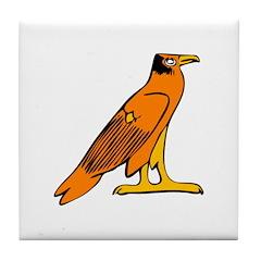 Egyptian Eagle Tile Coaster