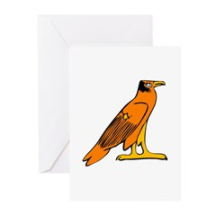 Egyptian Eagle Greeting Cards (Pk of 10)