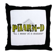 pharmacists II Throw Pillow
