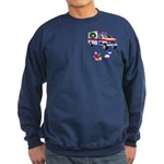EMS Happy Holidays Greetings Sweatshirt (dark)