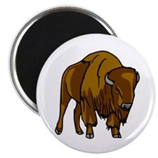 """American Bison/Buffalo 2.25"""" Magnet (10 pack)"""