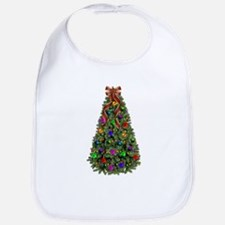 Bright Christmas Tree Bib