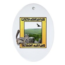 Catoctin Mountain Park Oval Ornament