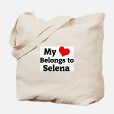 My Heart: Selena Tote Bag