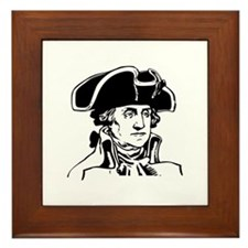 George Washington Framed Tile