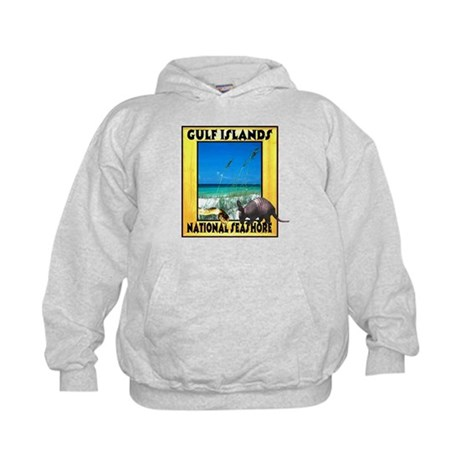 Gulf Islands National Seashor Kids Hoodie