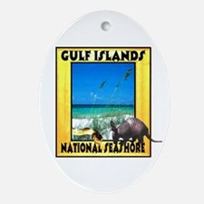 Gulf Islands National Seashor Oval Ornament