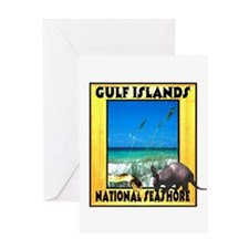 Gulf Islands National Seashor Greeting Card