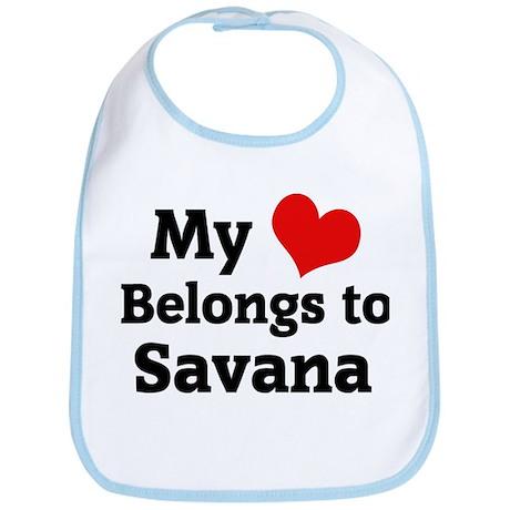 My Heart: Savana Bib