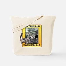 Rock Creek Park Squirrel Tote Bag
