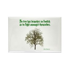 Foolish Branches Rectangle Magnet