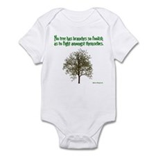 Foolish Branches Infant Bodysuit