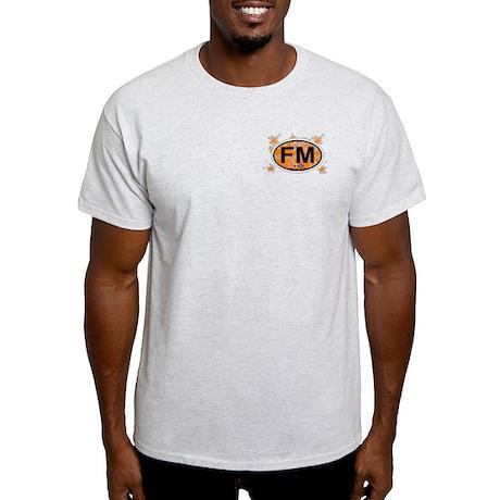 Fort Myers FL - Oval Design Light T-Shirt