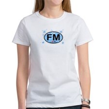 Fort Myers FL - Oval Design Tee
