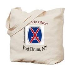 "10th Mountain Div ""Climb To G Tote Bag"