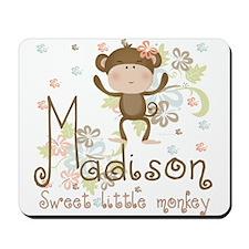 Adorable Madison Sweet little Monkey Mousepad