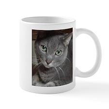 Gray Cat Love Mug