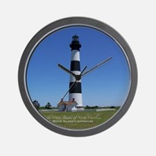 Bodie Island Lighthouse Wall Clock