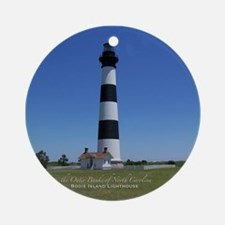 Bodie Island Lighthouse Ornament (Round)