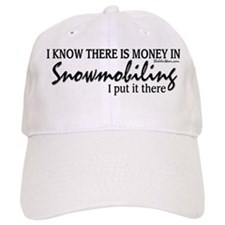Money in Snowmobiling Hat