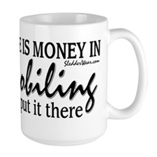 Money in Snowmobiling Mug