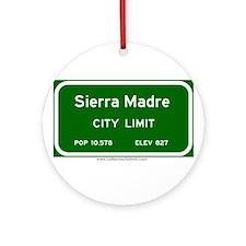 Sierra Madre Ornament (Round)