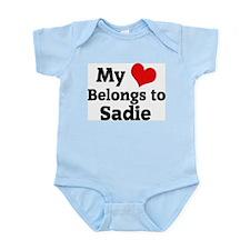My Heart: Sadie Infant Creeper