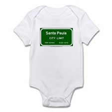 Santa Paula Infant Bodysuit