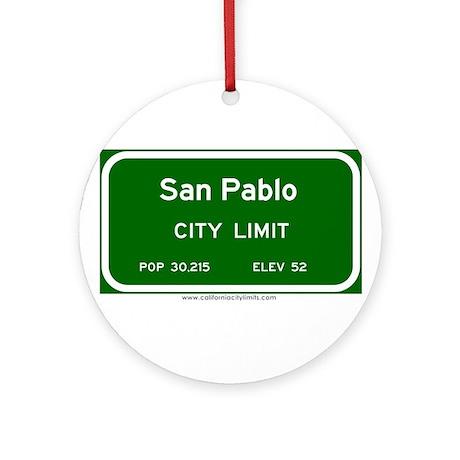 San Pablo Ornament (Round)