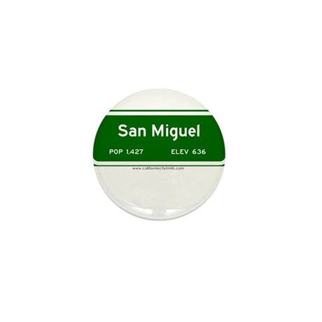 San Miguel Mini Button