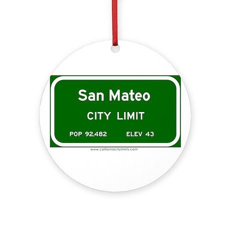 San Mateo Ornament (Round)