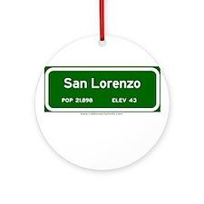 San Lorenzo Ornament (Round)