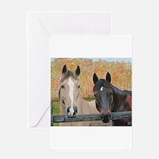 Unique Horse picture Greeting Card