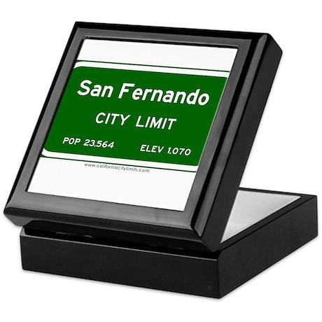 San Fernando Keepsake Box